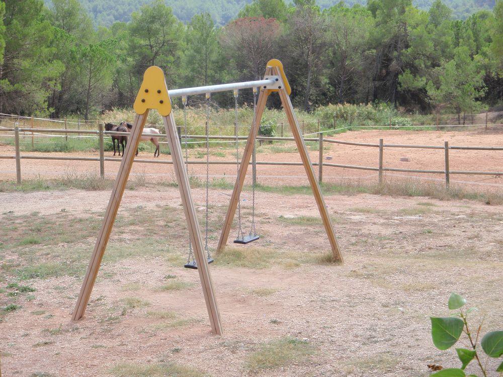 Columpio parque infantil