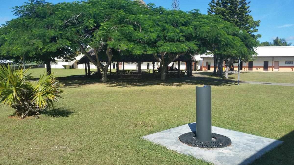 Mobiliario urbano - Islas Lifou