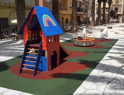 Playground in Valencia, Spain – 2018