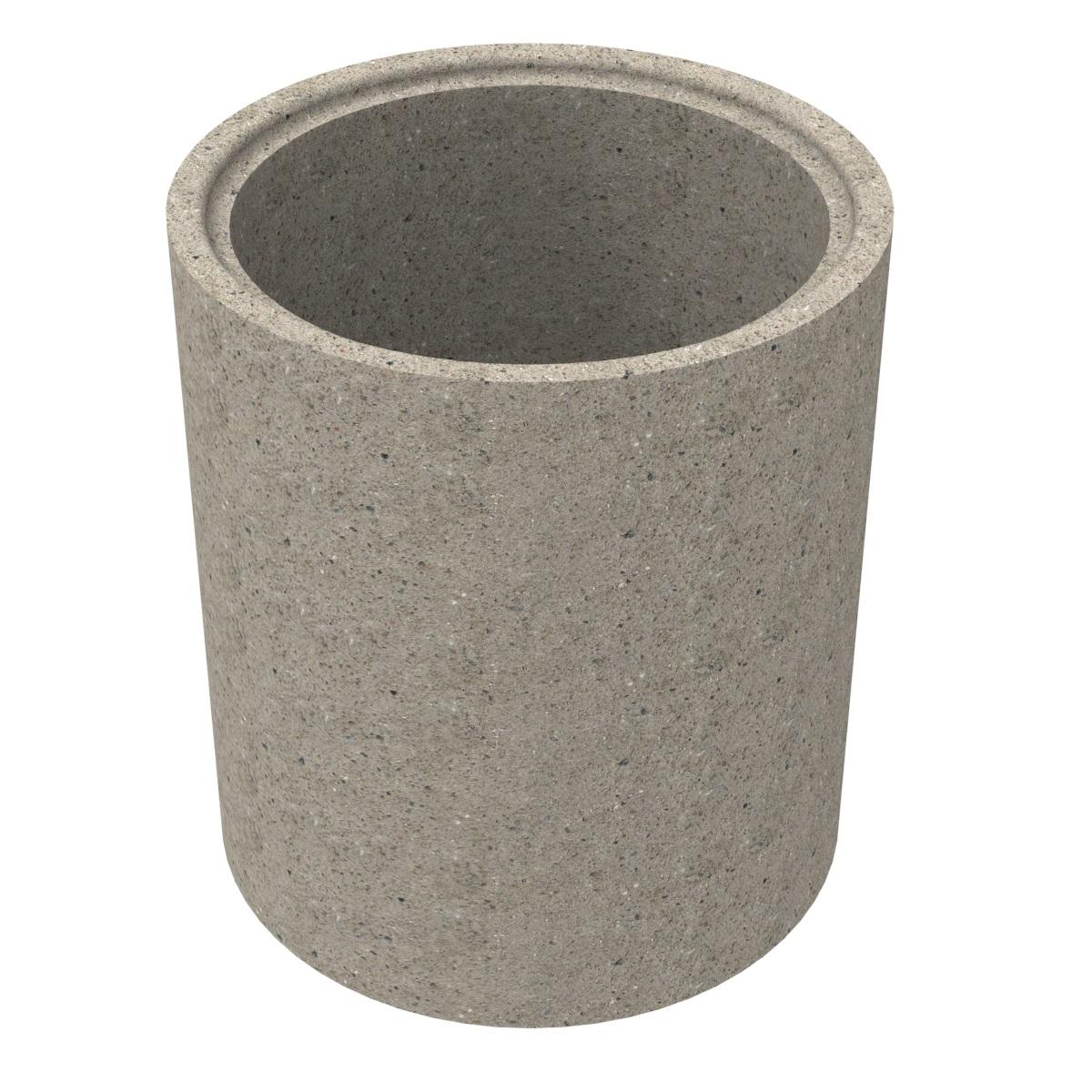 Anneau préfabriqué en béton pour puits80x100