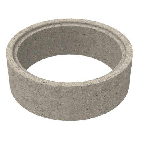 Premanufactured ring of concrete for wells 80x30