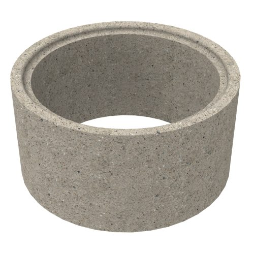 Premanufactured ring of concrete for wells 80x50