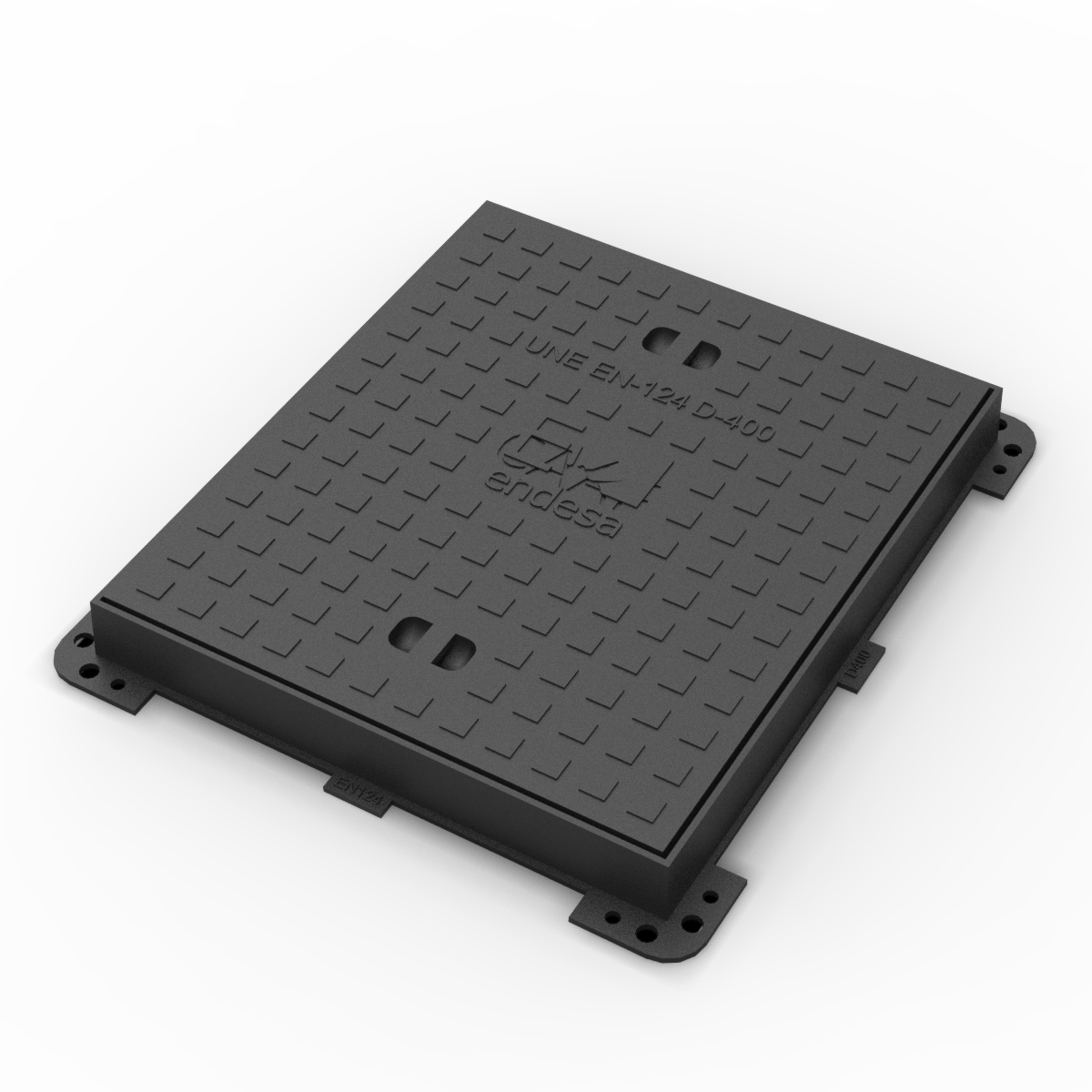 Sevillana Endesa Manhole Cover and frame A-1-D400