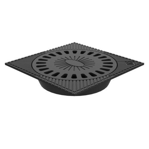 Sumidero Sifónico de fundicion ductil para aguas B-55