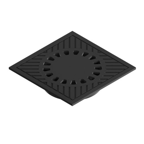 Syphonic gully grating trap of ductile casting for waters B-55A