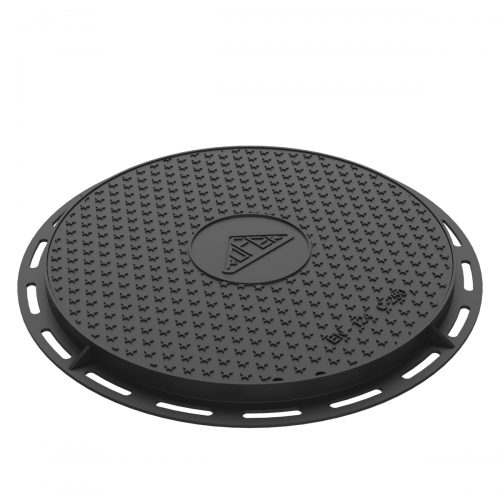 Circular Manhole cover and ring of registry ductile casting B-8DU250