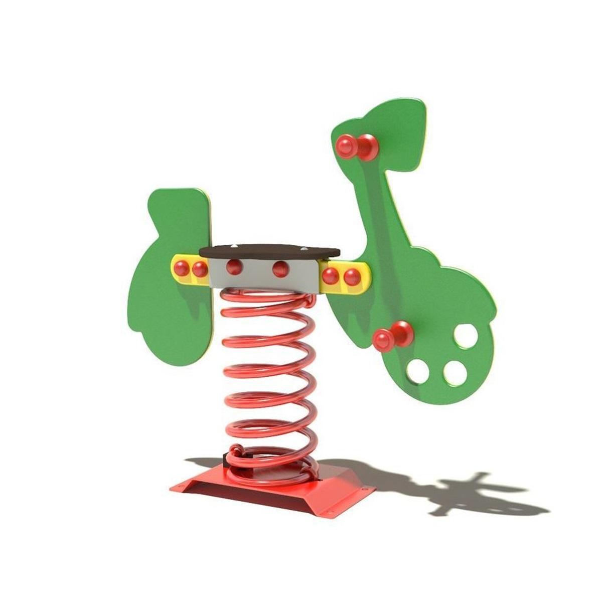 Juegos Infantiles, muelles individuales para niños