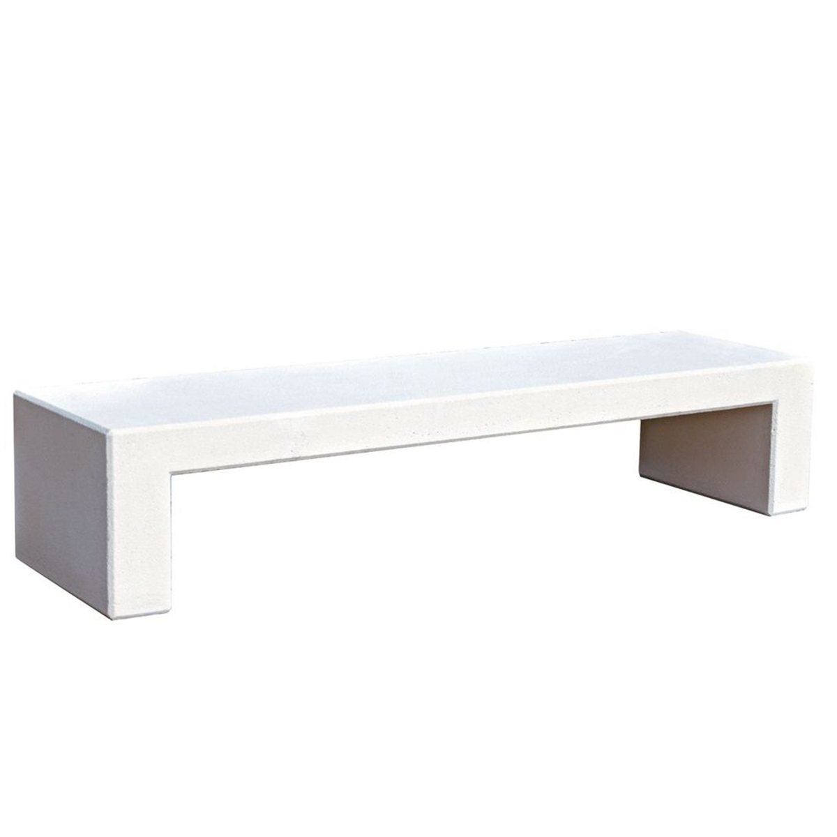 Concrete Zeus Bench urban furniture to sit down in parks and gardens