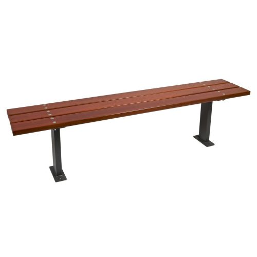 Wood Banquette Bench urban furniture parks and gardens C-1012