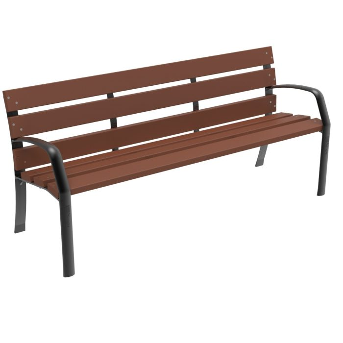 Similar Bench Recycled Polymer urban furniture parks and gardens
