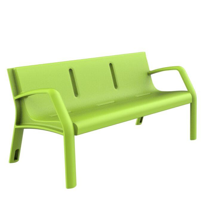 Banc Plastique Modo Mobilier urbain pour s'asseoir parcs et jardins