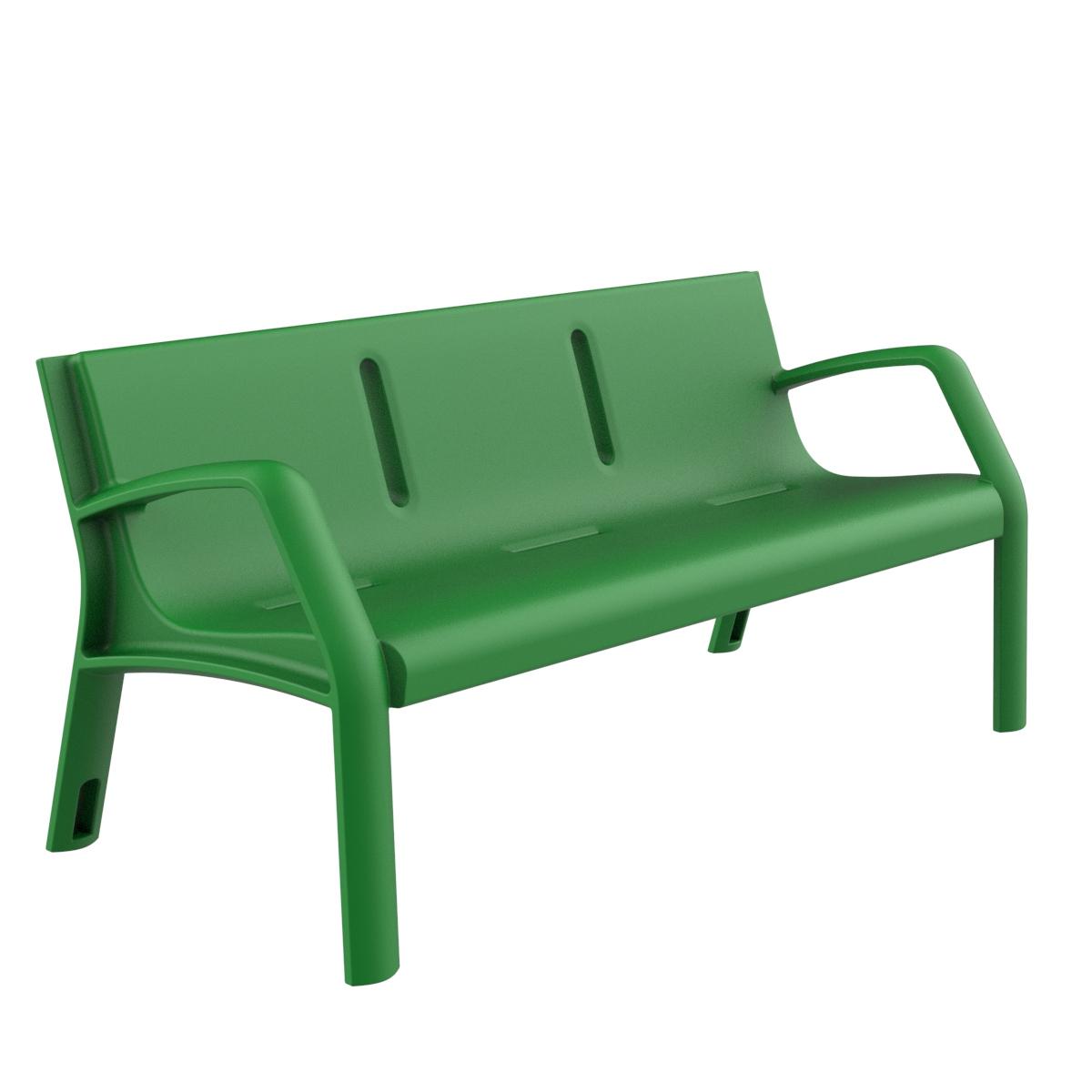 Banco plastico alvium mobiliario urbano para sentarse - Imagenes de bancos para sentarse ...