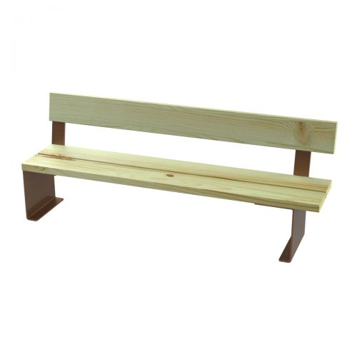 Tauló bench model Urban furniture to sit parks and gardens C-1023-PC