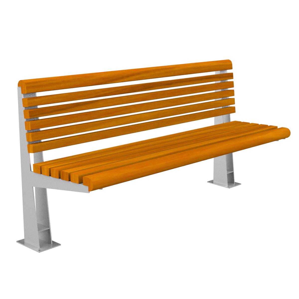 Banco madera ronda mobiliario urbano para sentarse parques for Bancos de jardin precios