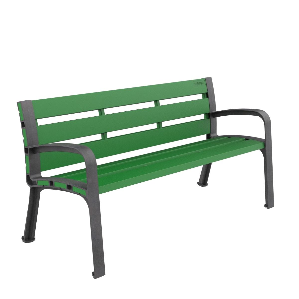 banco plastico modo polipropileno mobiliario urbano para