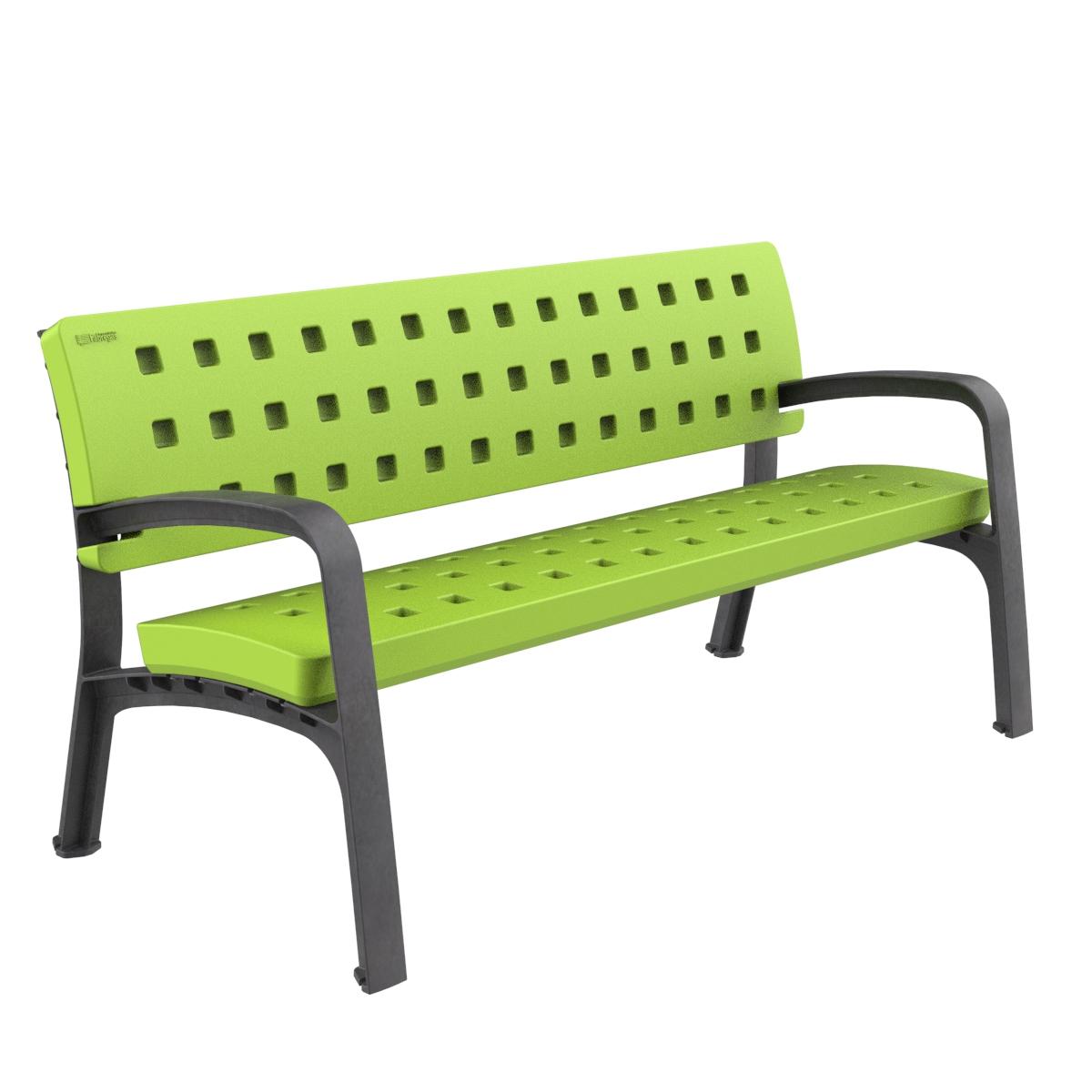 Banco Plastico Modo Mobiliario urbano para sentarse parques y jardines