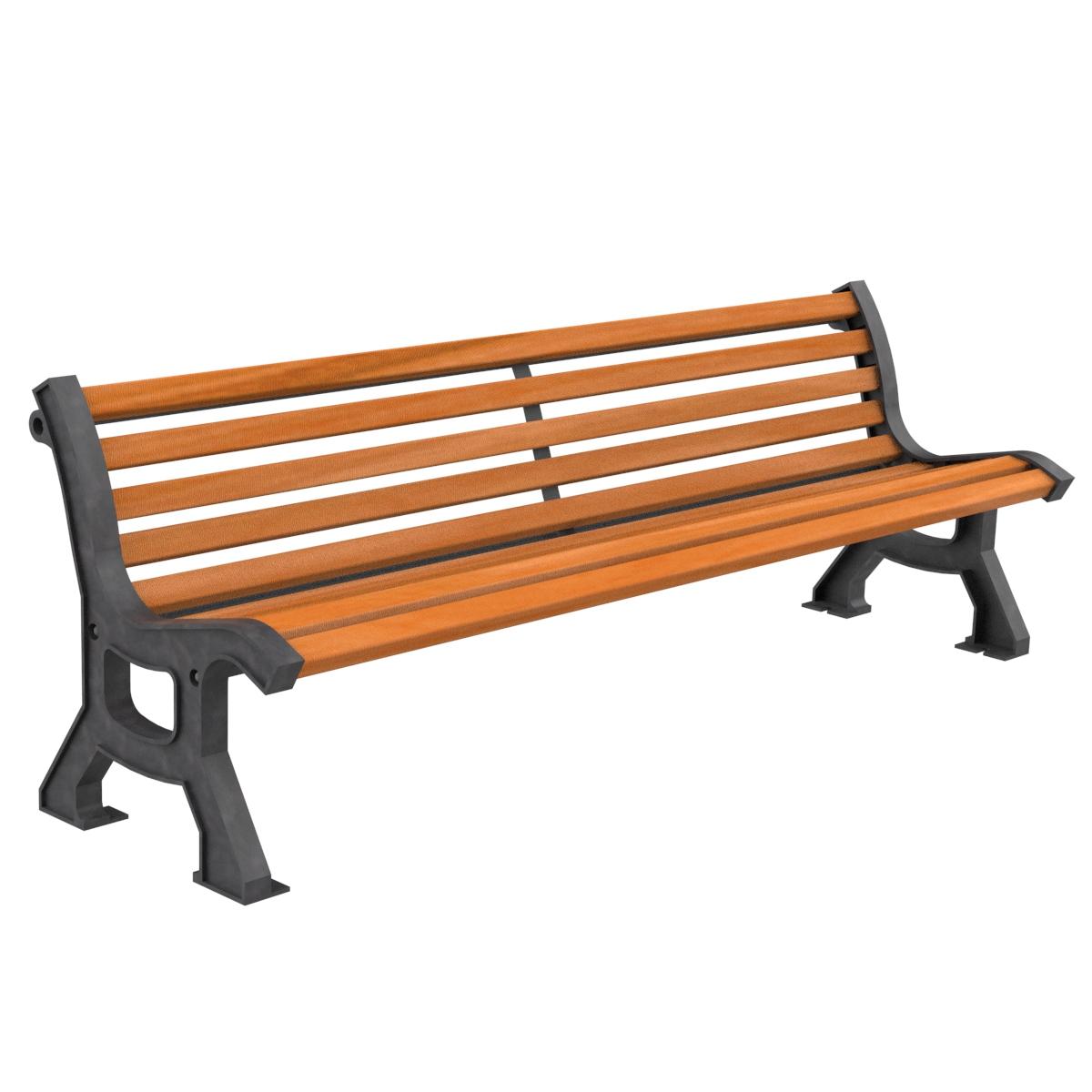 Banco madera bastide mobiliario elemento urbano parques y - Banco madera jardin ...
