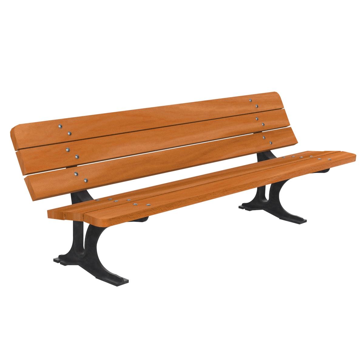 Banco madera paris mobiliario urbano para sentarse parques for Balancines de madera para jardin