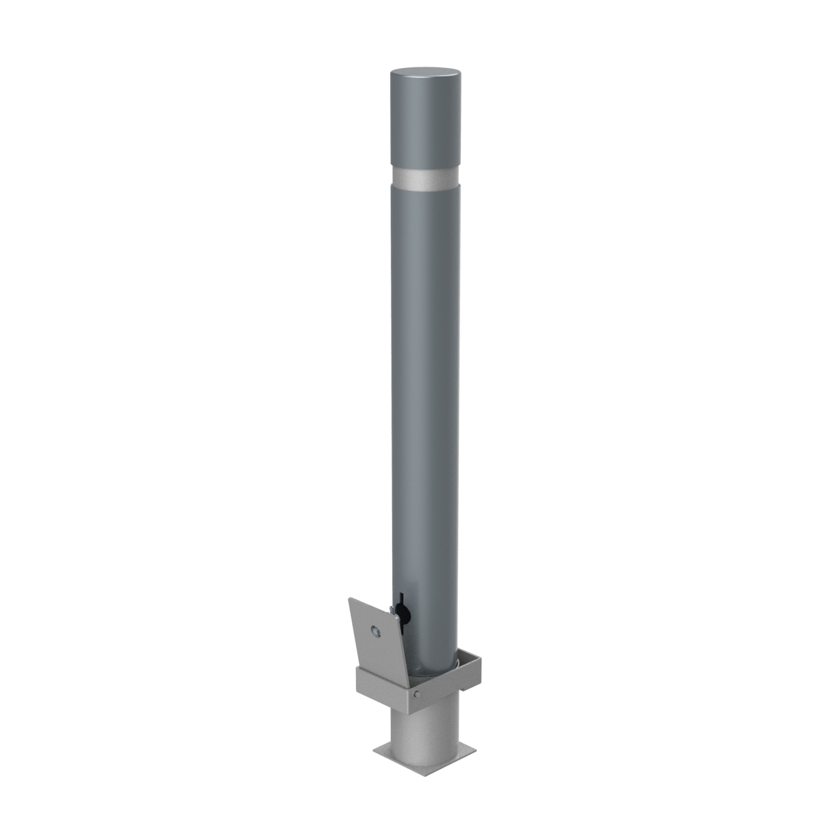 Barcelona Detachable bollard plus base and of 996mm of height - C-43D-ECO