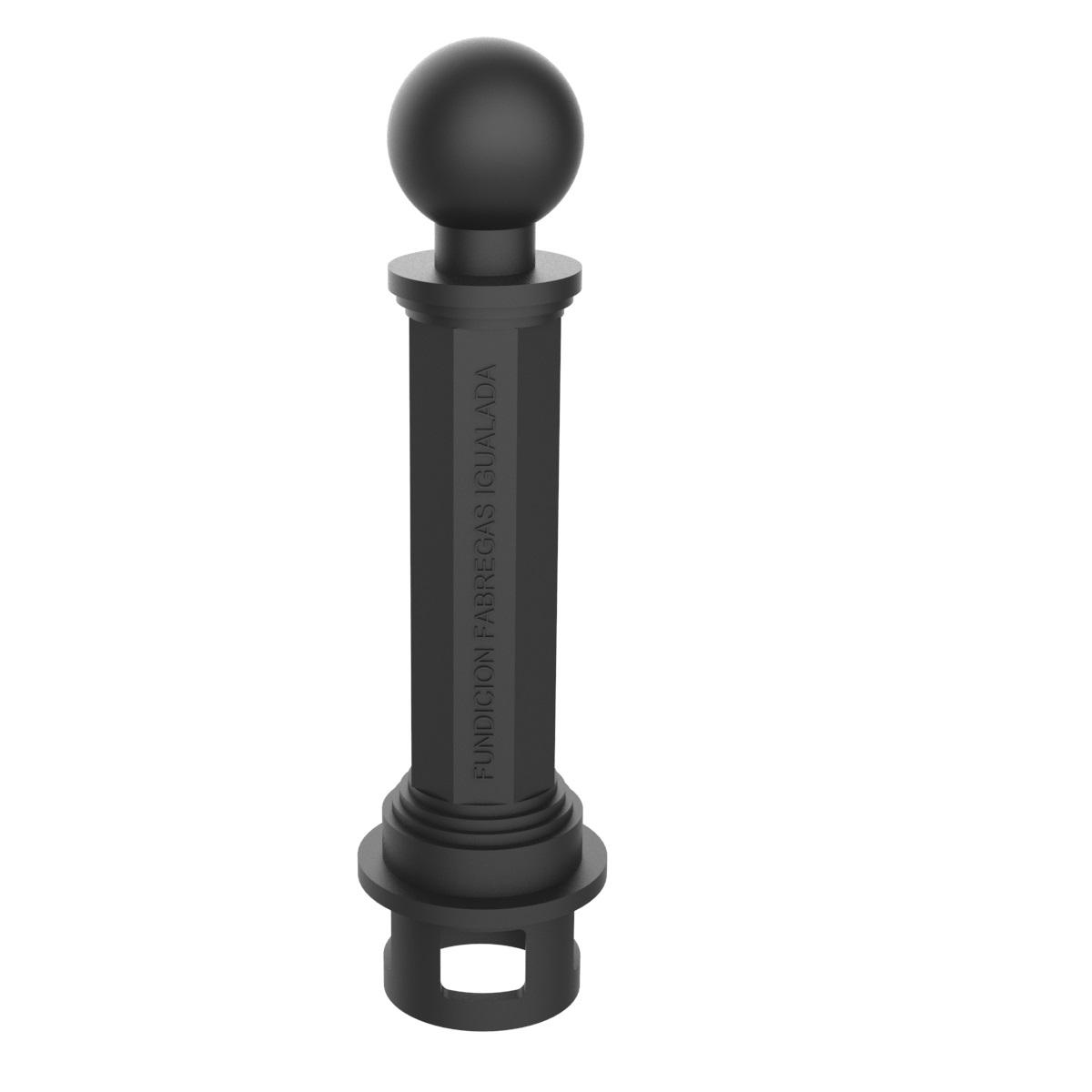 Pilona Valencia Pequeña de 580mm de altura - C-45AP