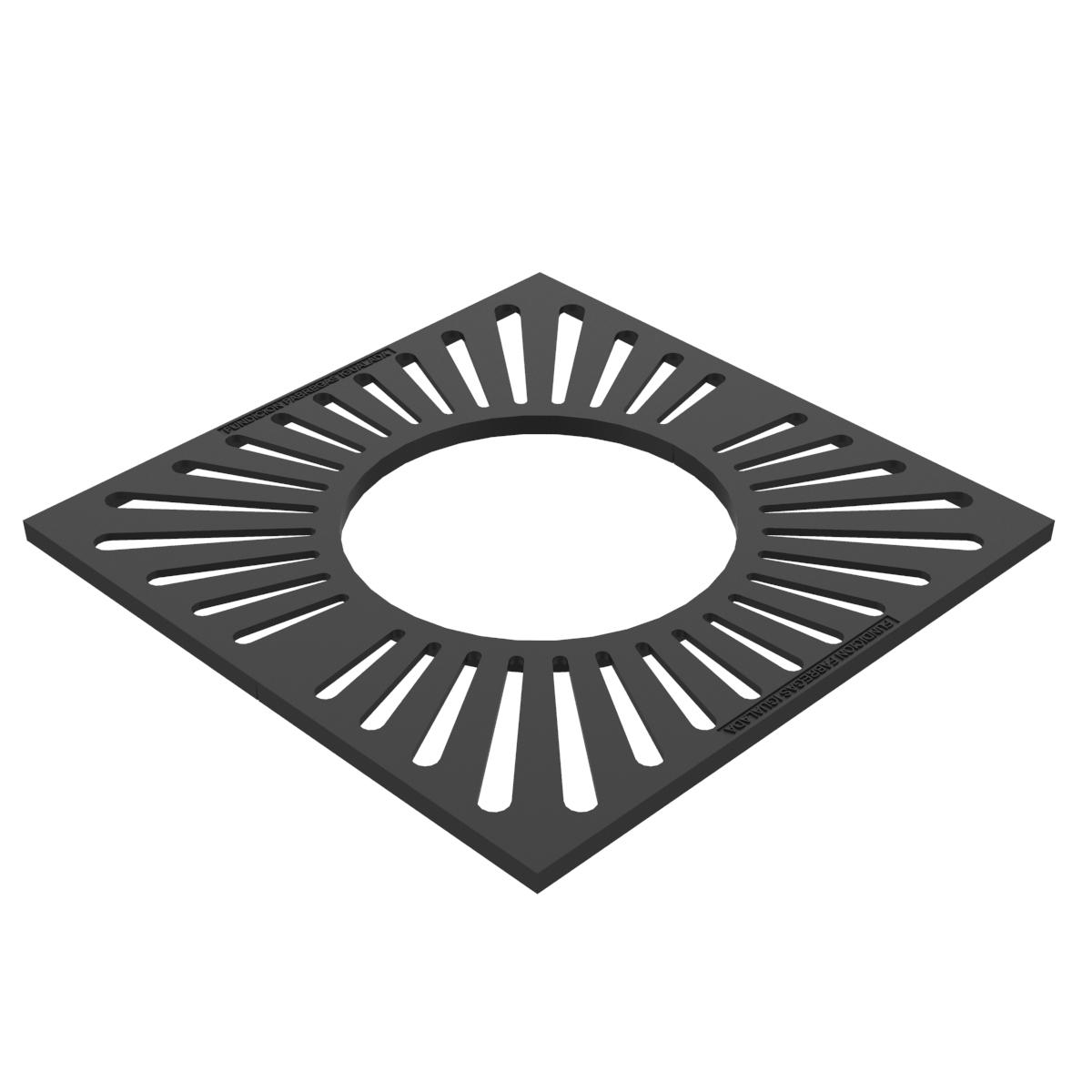 Alcorque cuadrado 800x800 -C-49x