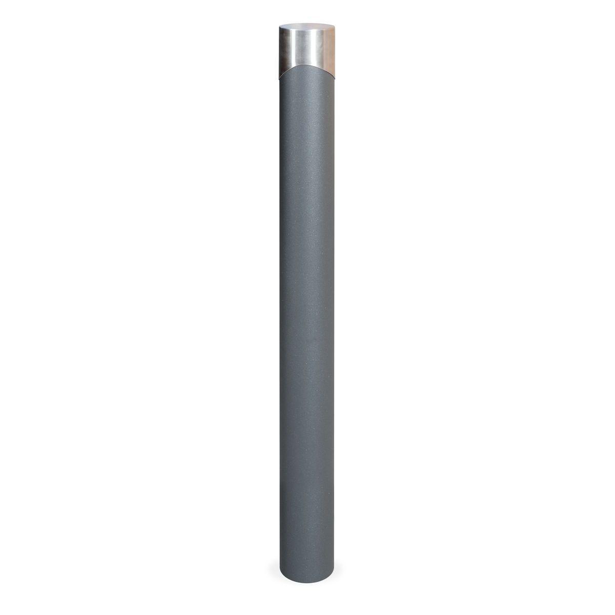 Pilona Duna con tapón de acero inoxidable de 998mm de alto - C-525