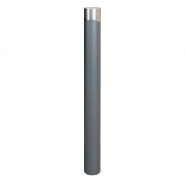 Duna bollard with stainlkess steel stopper of 998 mm of height - C-525