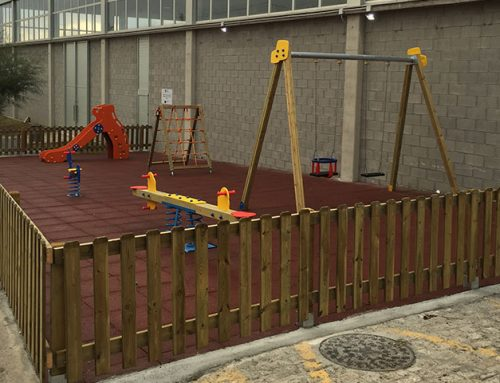Children's Playgroud and  Bio healthy in Cangas Foz