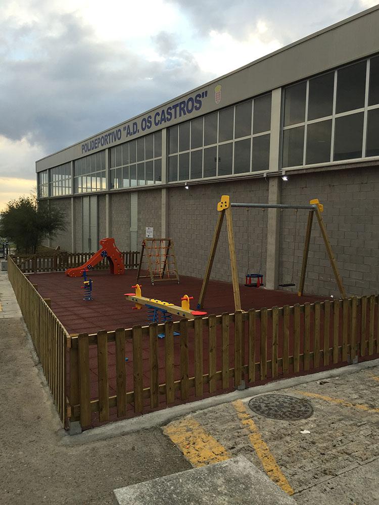 Parque infantil biosaludable