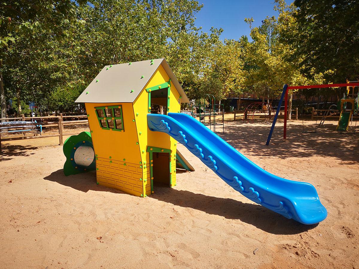 Parque infantil Castellar de Santiago