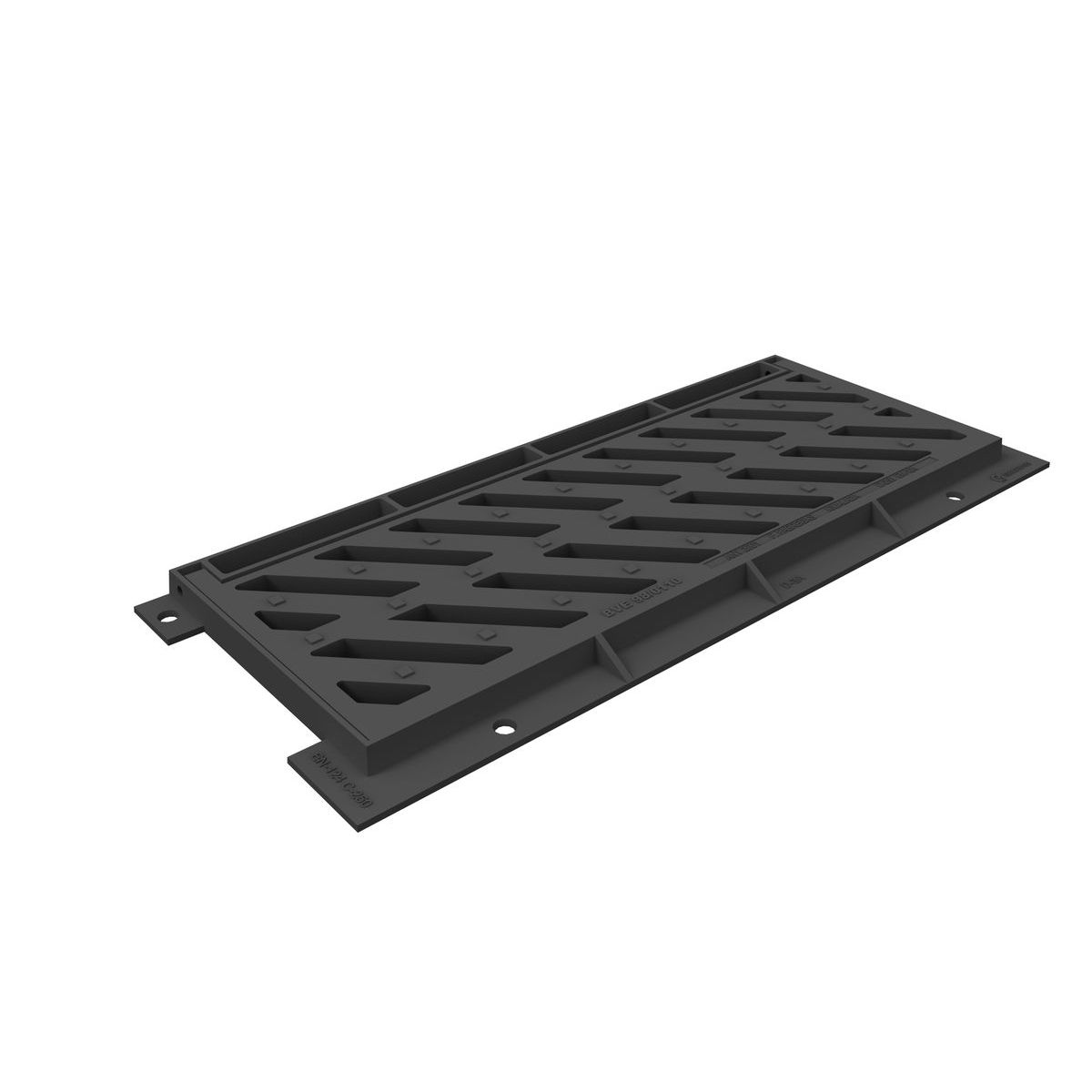 Grille et cadre inclinable IMPUdiagonal D-3AD