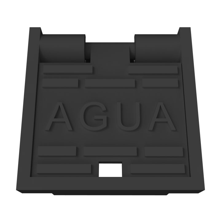 Folding Waters Manhole Cover, trap door and gully grating trap D-77