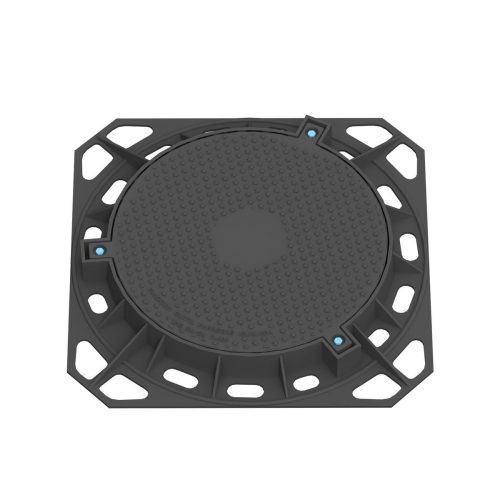 Manhole Cover and frame tight circular in ductile casting D-91