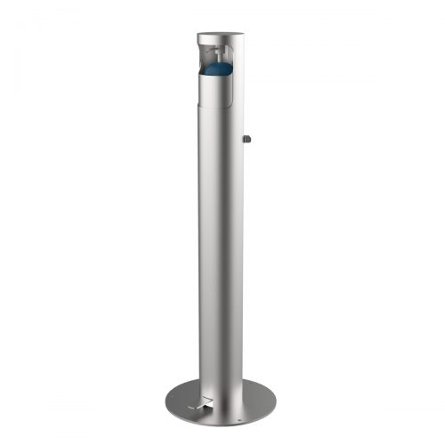 Hydroalcoholic gel dispenser made of satin AISI 304 stainless steel DISP-3