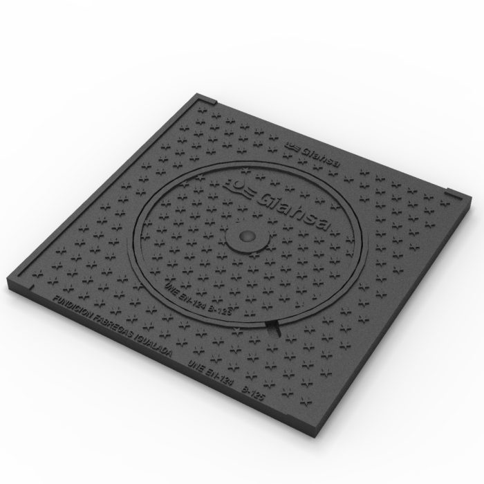 Cover and frame giahsawater peep-hole and gully grating traps E-GIAHSA-40
