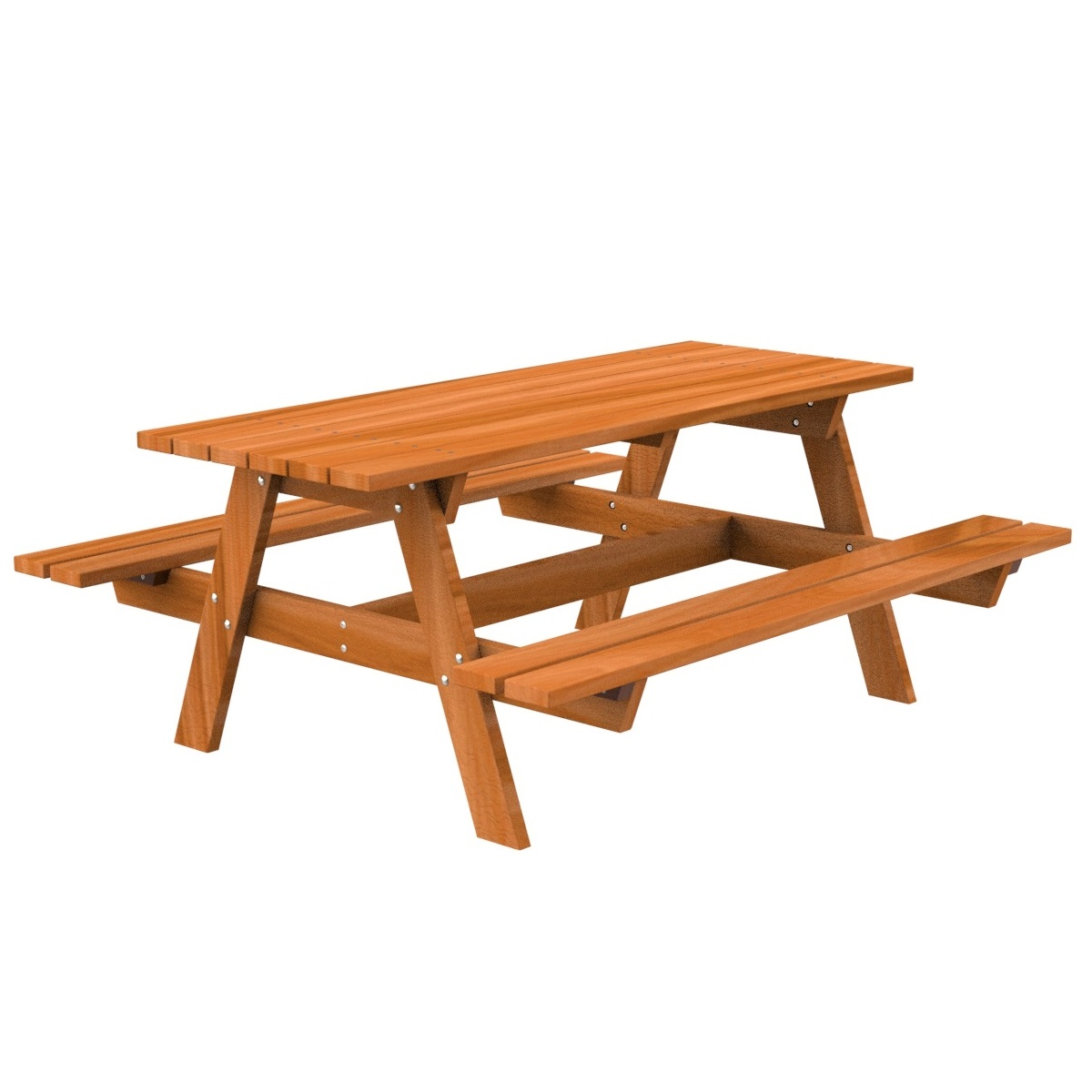 Tropical wood Table Picnic urban furniture parks and gardens
