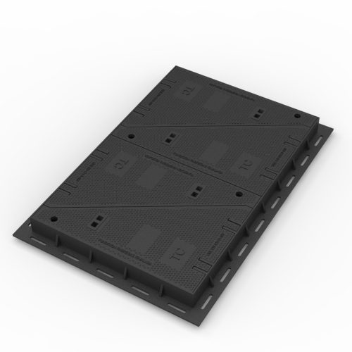 Telephony and telecommunication Manhole cover and frame in casting FO-4P
