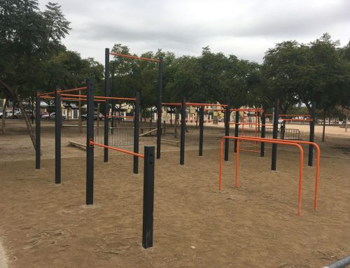 Street workout in Almassora, 2016