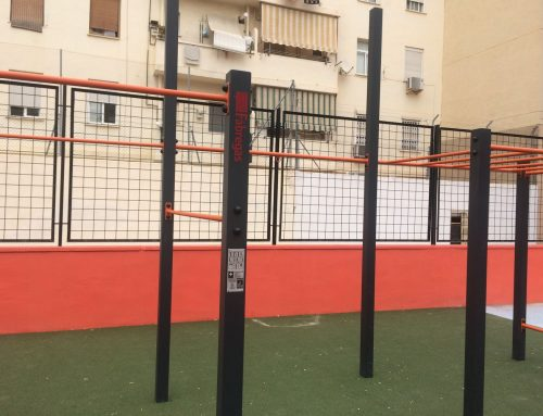 Street work out in the Valencian neighborhood of Torrefiel, 2017