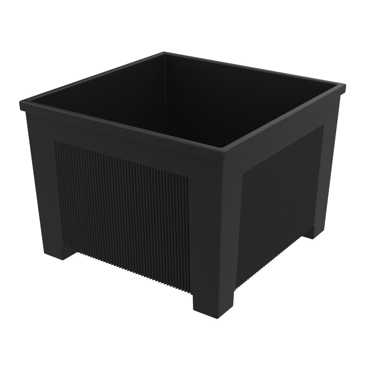 Square flower box of iron Ona J-18-70