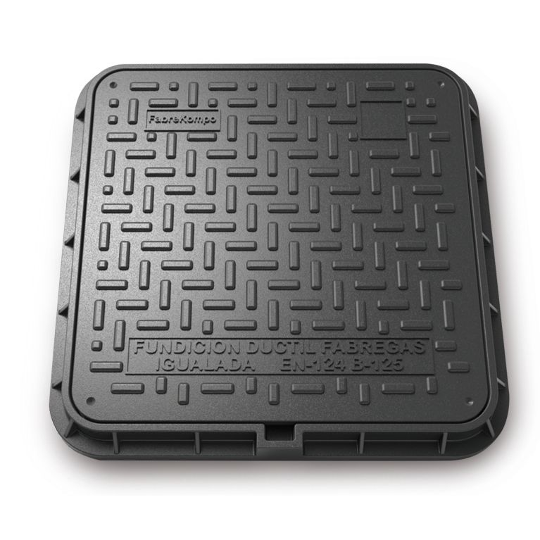 Manhole Cover and frame Composite D-16 50x50 B-125
