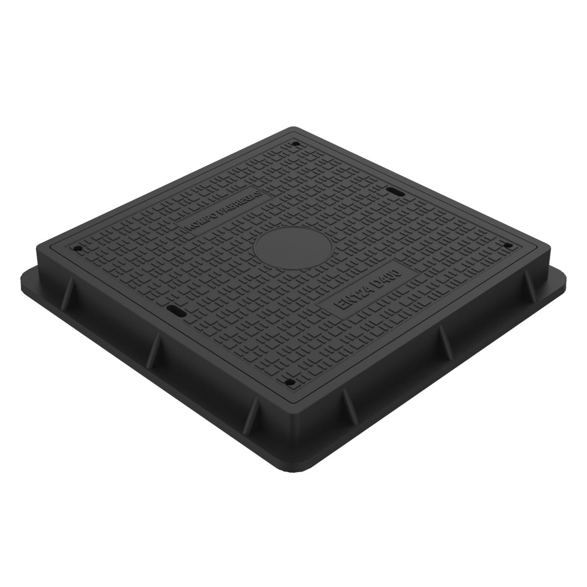 Manhole Cover and frame composite D-18 70x70 D-400