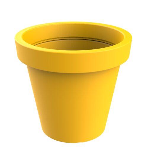 Alvium model yellow planter RAL 1021 P-1017-1200-AMA