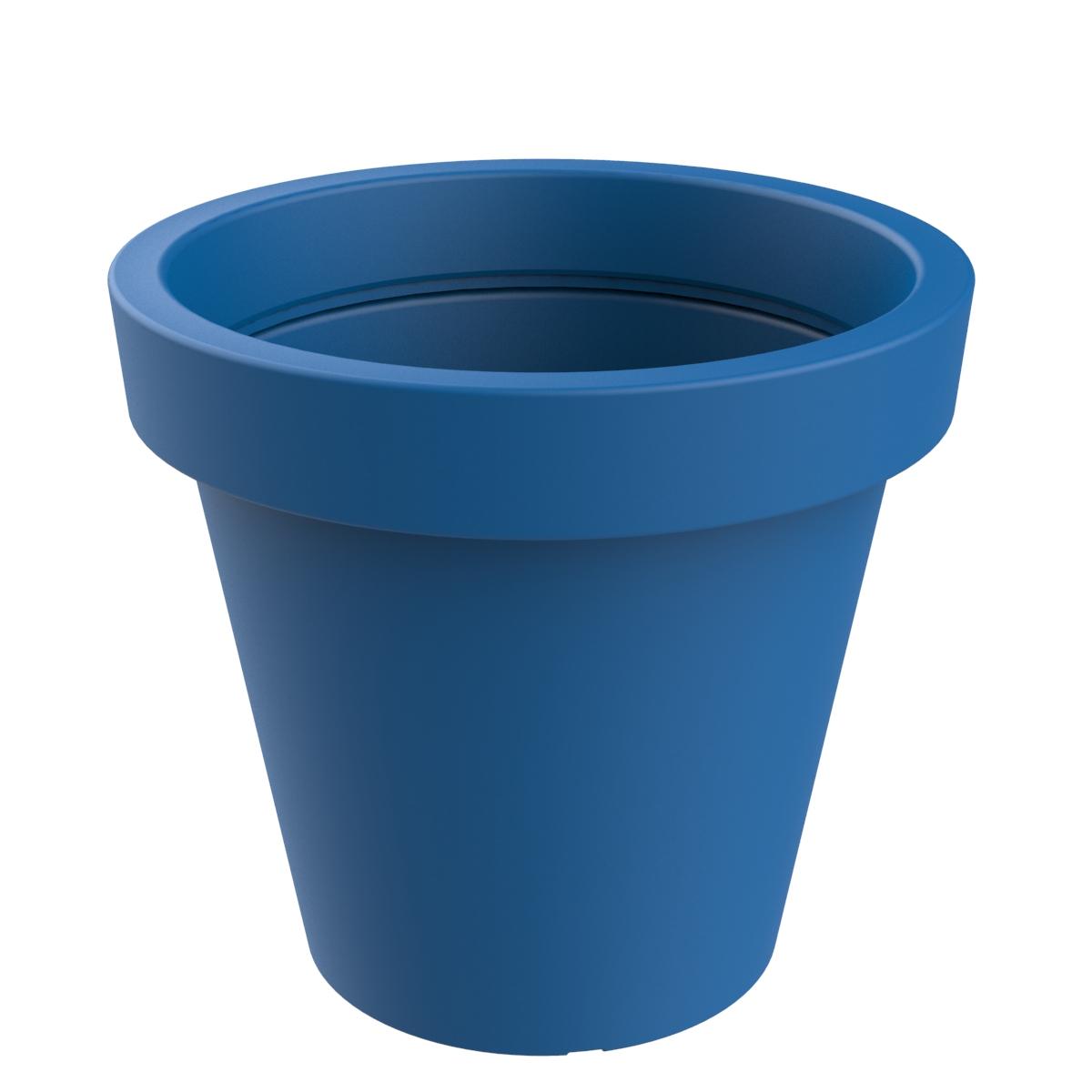 Jardinera modelo Alvium de color azul RAL 5005 P-1017-1200-AZU