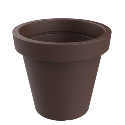 Alvium model corten planter RAL 8017 P-1017-1200-COR