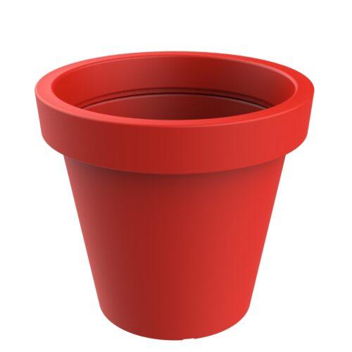 Jardinera model Alvium de color vermell RAL 3020 P-1017-1200-ROJ