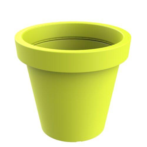Alvium model green acid planter RAL 1026 P-1017-1200-VEA