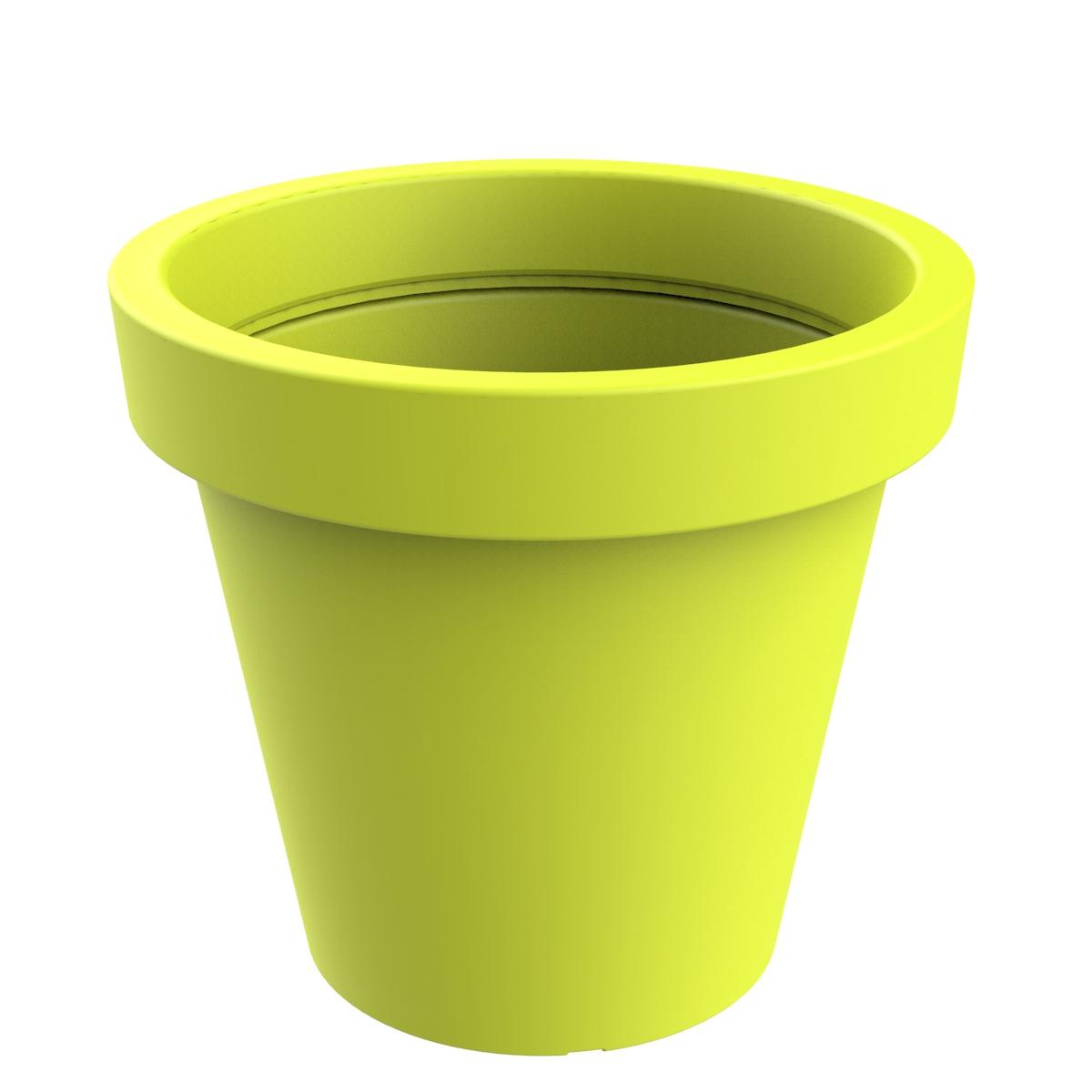 Jardinera modelo Alvium de color Verde Ácido RAL 1026 P-1017-1200-VEA
