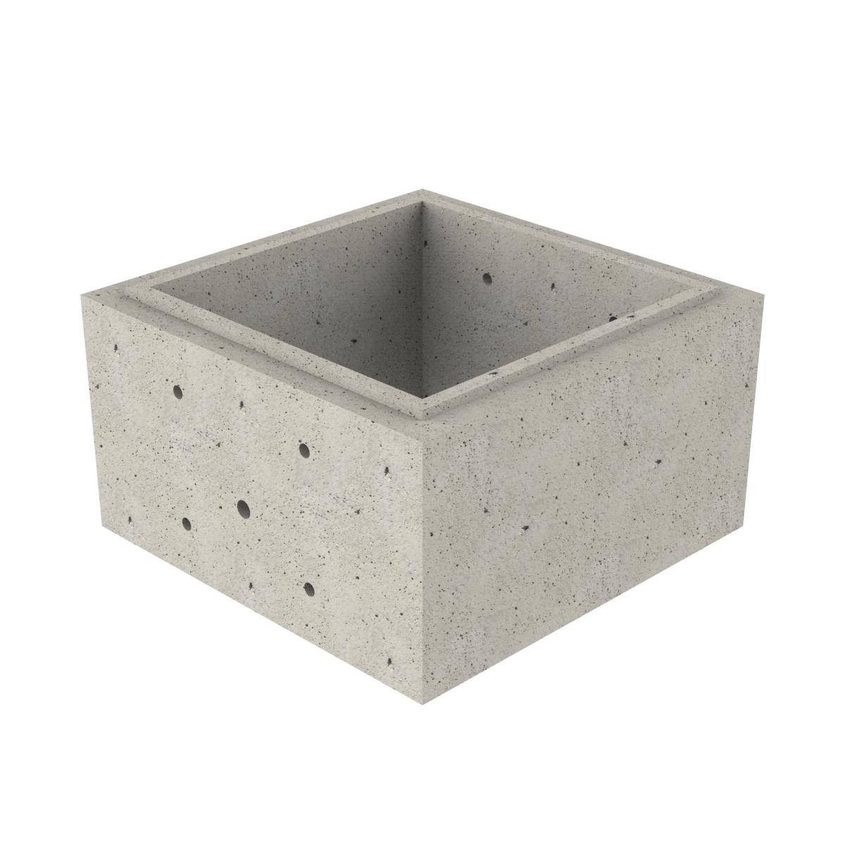 Puits préfabriqué carré P-2 700x700x500