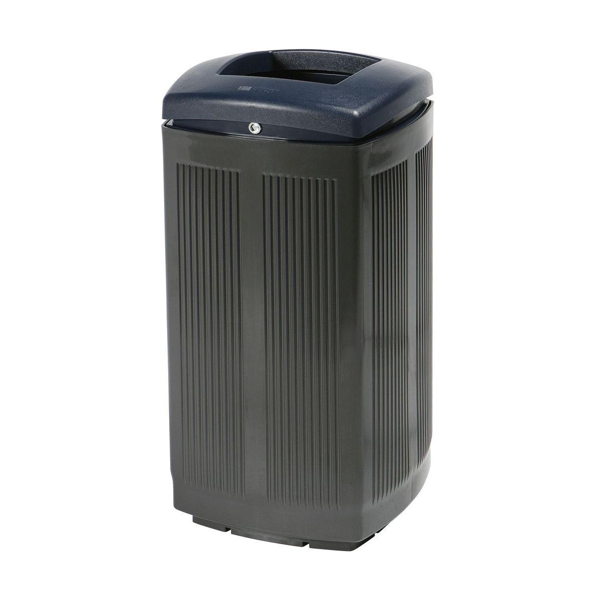 Toscana Polypropylene Grey Bin for street P-200